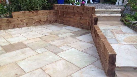 stylish block paving