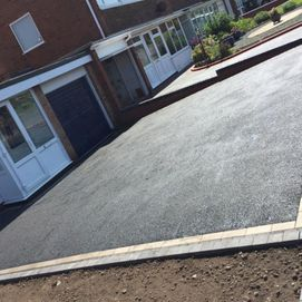 customers finished driveway